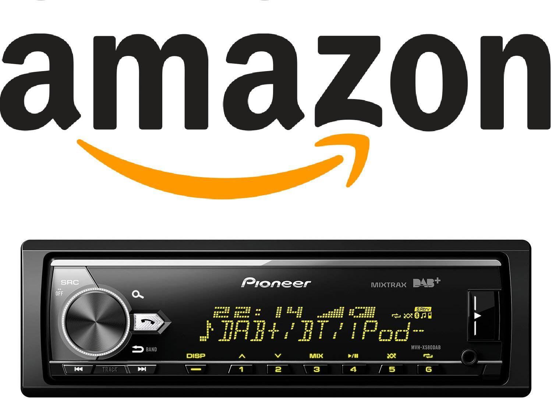 Pioneer MVH-X580DAB Next Generation Car Stereo with AM/FM, Bluetooth