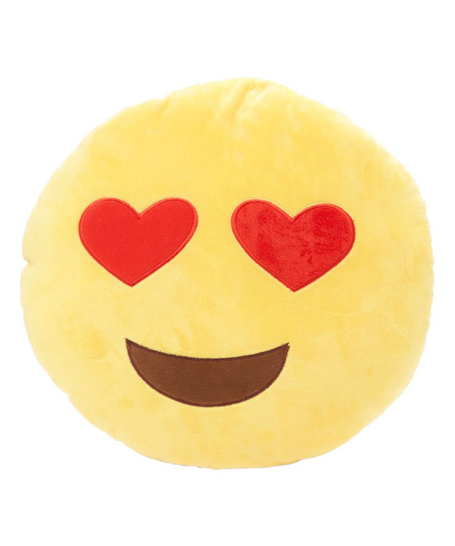 Look at this 10 5'' Love Emoji Pillow on #zulily today! | Gift ideas