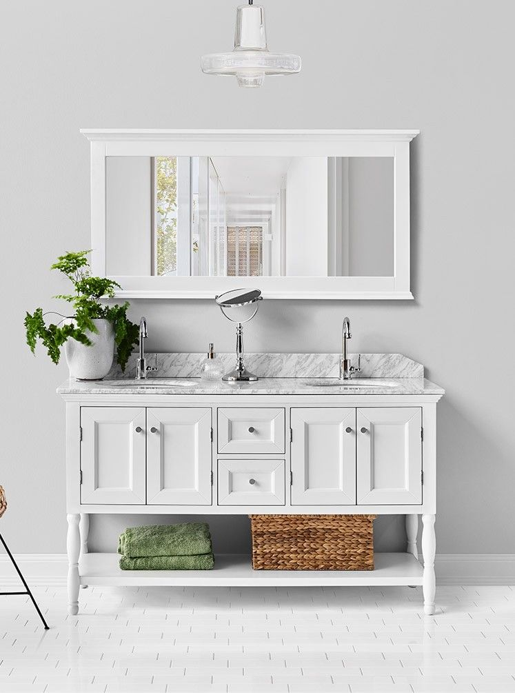 24+ Free standing double bathroom cabinets best