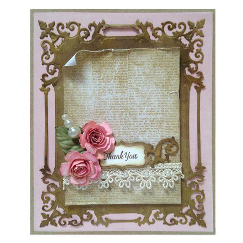 Shapeabilities Regal Frame Etched Dies | Cards, Spellbinders cards ...