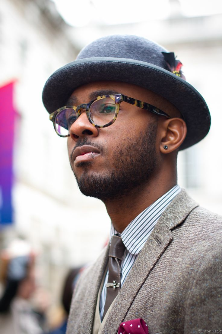For guys, wearing a bowler hat is making a real style statement. It's a style commonly reserved for the eccentrics --… | Gentleman style, Bowler hat, Fedora fashion
