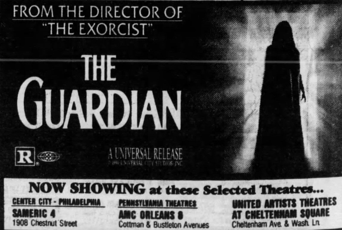 The Guardian (1990) in 2020 United artists theater