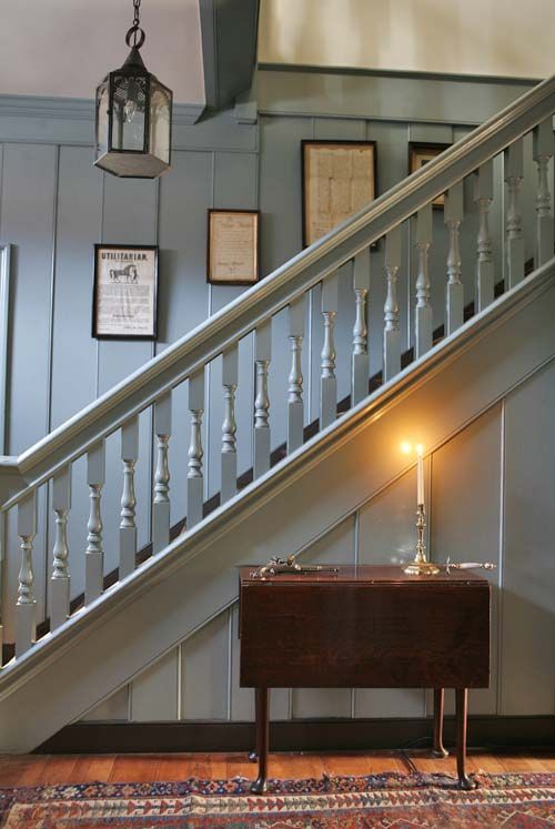 Staircase From A House In Williamsburg From The October 2012 Issue