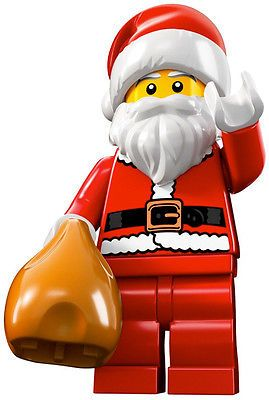lego minifigures the  santa from series 8