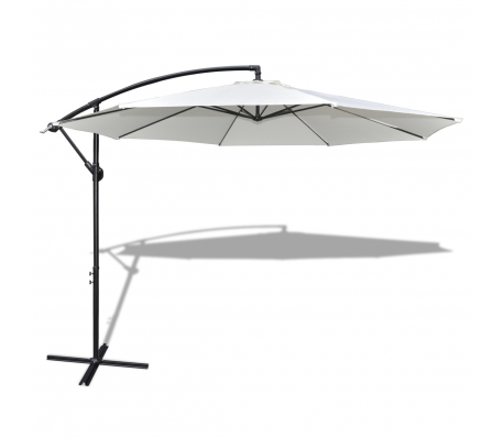 Outdoor Large Hanging Parasol 11 6 Rectangular Patio Umbrella Garden Treasures Patio Furniture Offset Patio Umbrella