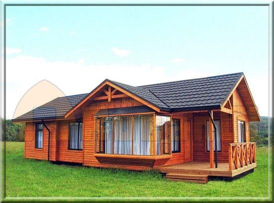 Modelo licanco 2b 87m2 casas rucantu s a casas de campo for Modelos casas prefabricadas