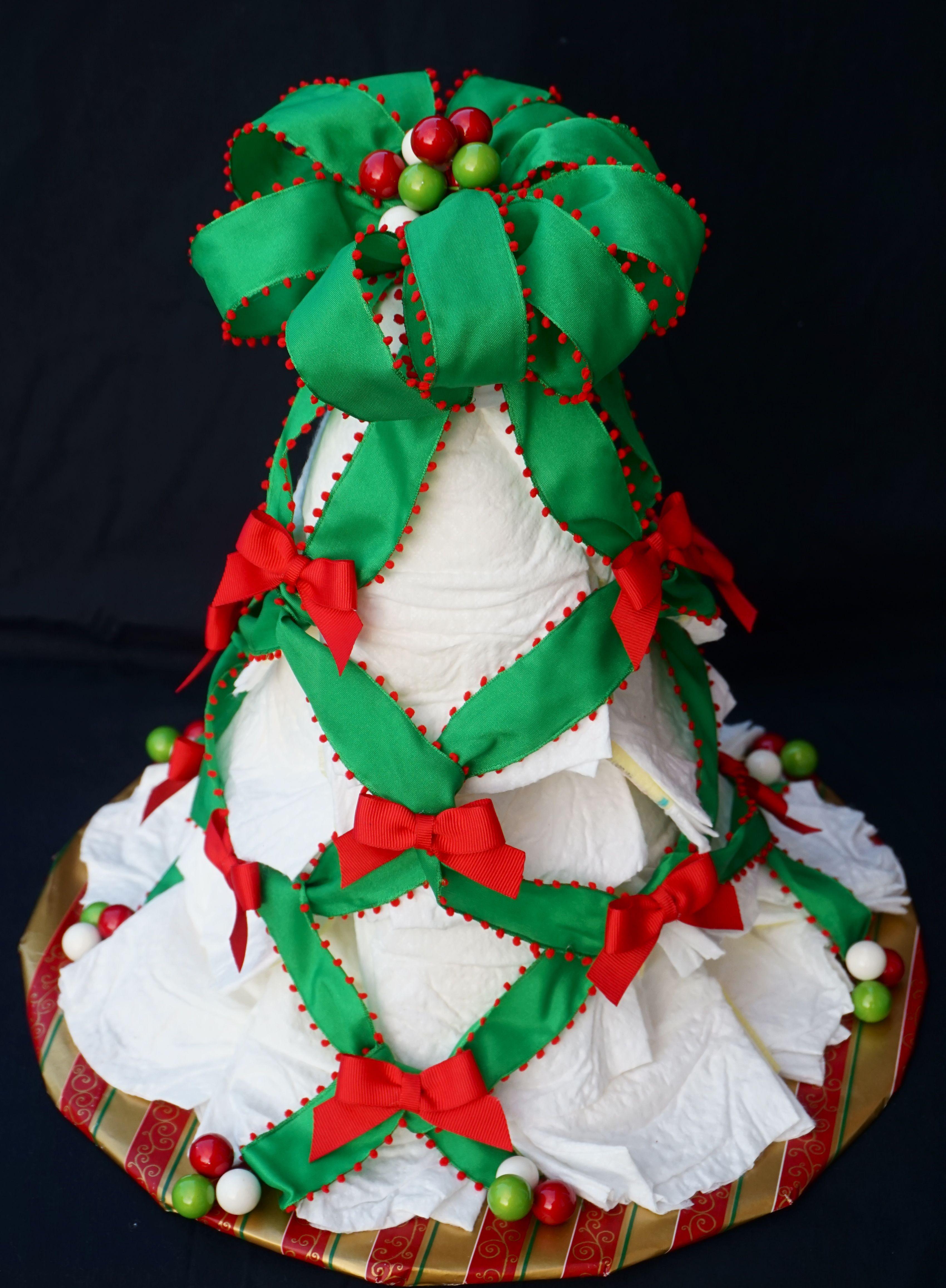 Diaper Cake Christmas Tree Www Facebook Com