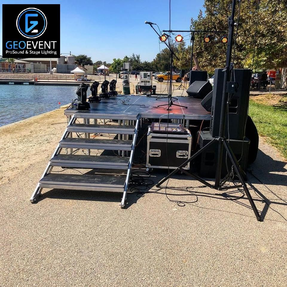 Portable Stage Rental Outdoor Stage Portable Stage Rental
