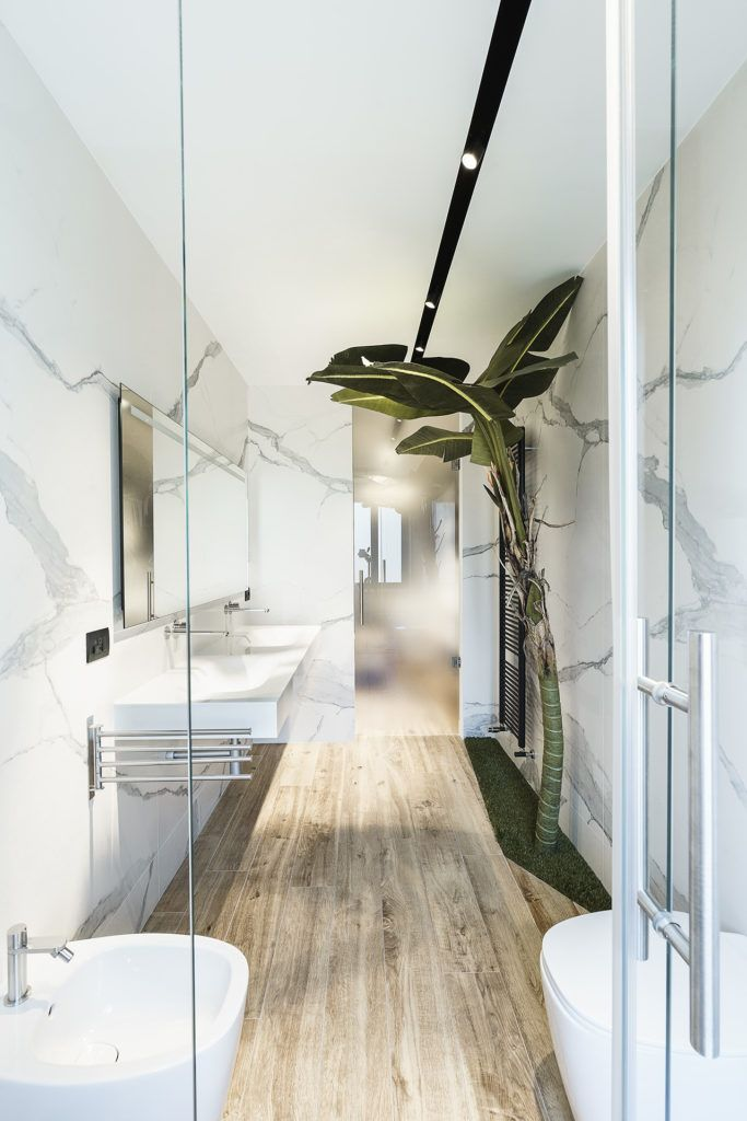 Modern Design and Trees Define Roman Apartment Used for ...