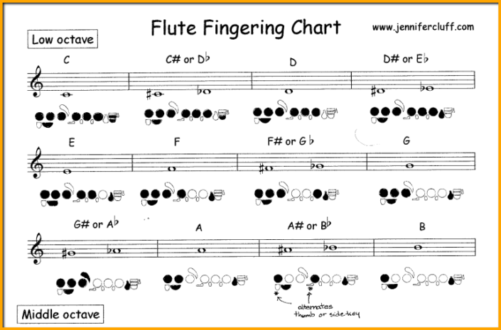 Fast Foolproof Way To Learn Flute Notes For Beginners Cheat Sheets Flute Model Train Layouts Train Layouts