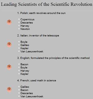 Leading Scientists of the Scientific Revolution