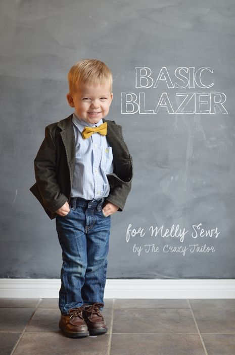 Basic Blazer with The Crazy Tailor - Blank Slate Sewing Team ...