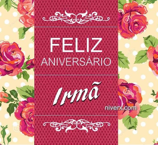 Feliz Aniversário Para Irmã C46 Imagem 5 Messagem