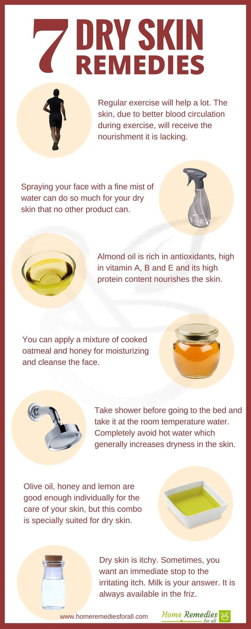 These  most effective home remedies will get rid of your dry skin