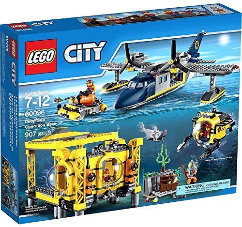 Lego City Deep Sea Operation Base 60096 Lego Riley Pinterest