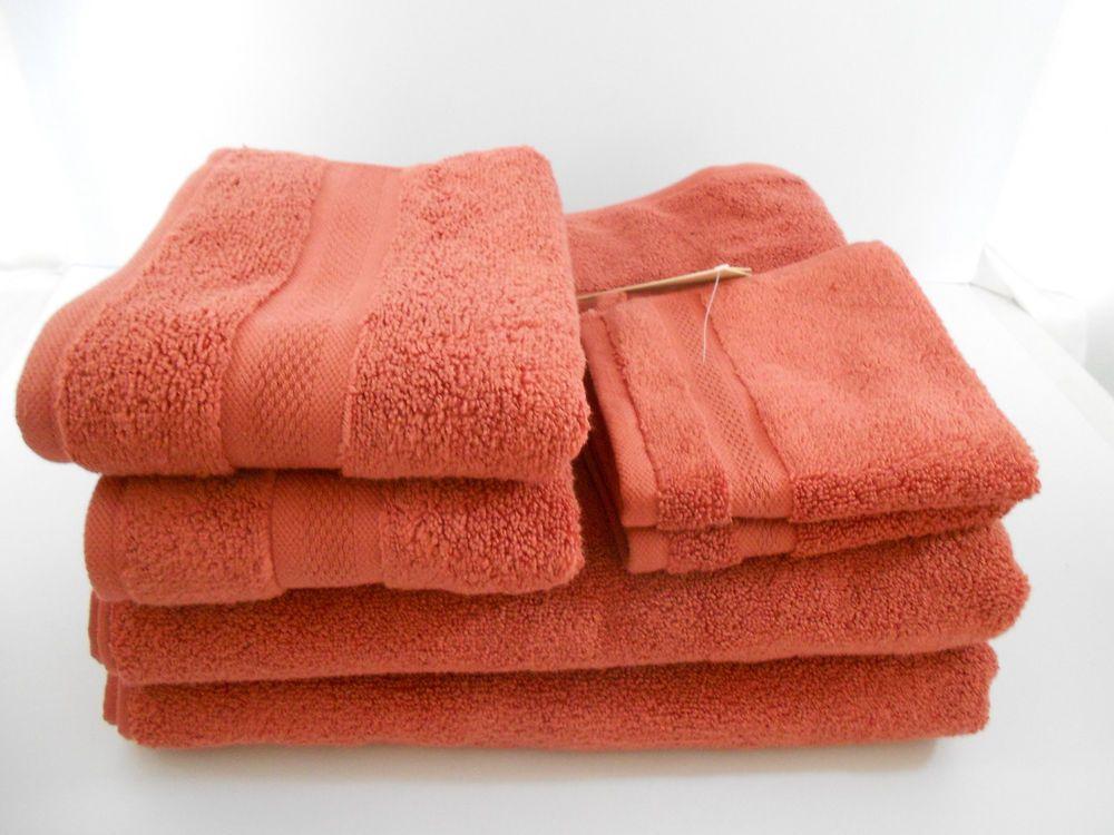 Calvin Klein 6 Piece Bath Towel Set