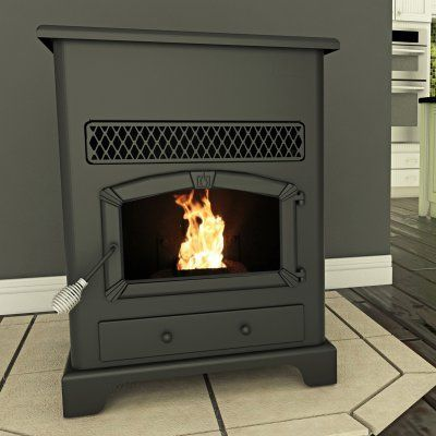 us stove large pellet heater with ash pan - Us Stove
