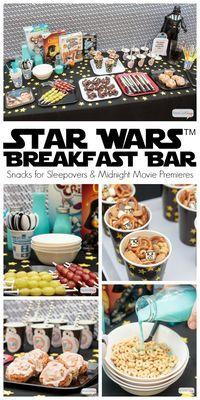 NoBake Wookie Cookies Recipe Star wars party Star and Birthdays