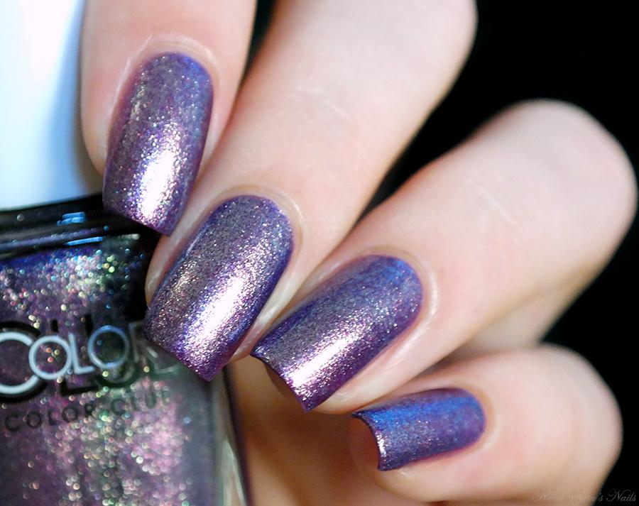 Purple nails Color Club \