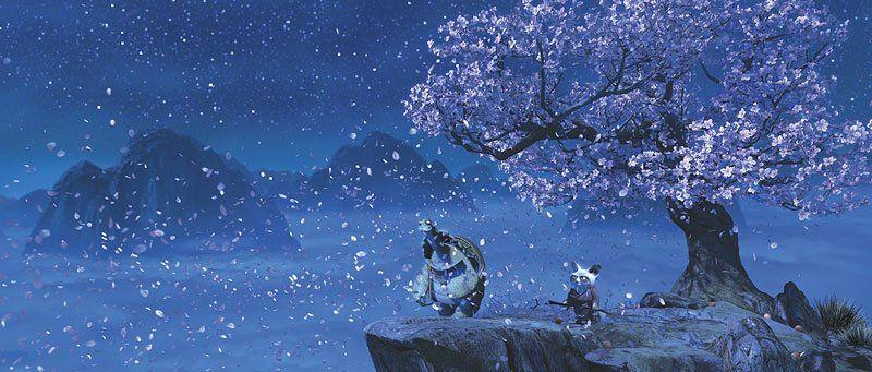 Cherry Blossom From Kung Foo Panda Kung Fu Panda Panda Movies Master Oogway