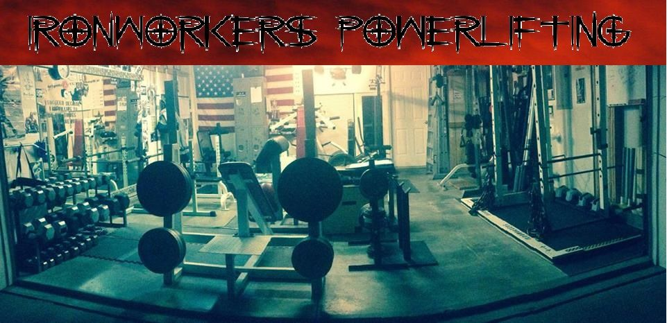 Ironworkers powerlifting garage gym fitness garage gym gym