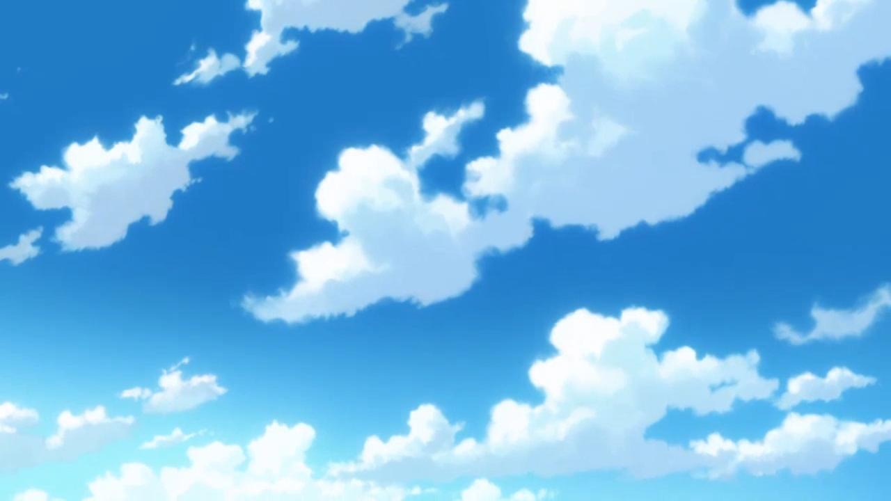 Image Result For Anime Clouds Tutorial Gambar Kartun Gambar Gambar Kartun