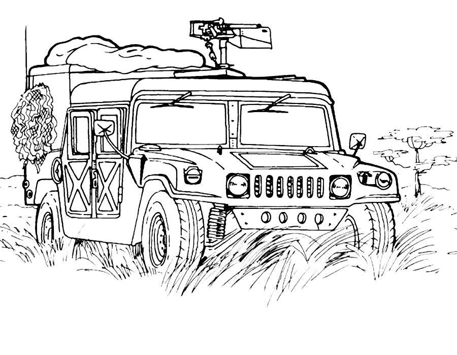 Раскраска военная техника | Раскраски, Рисунки для ...
