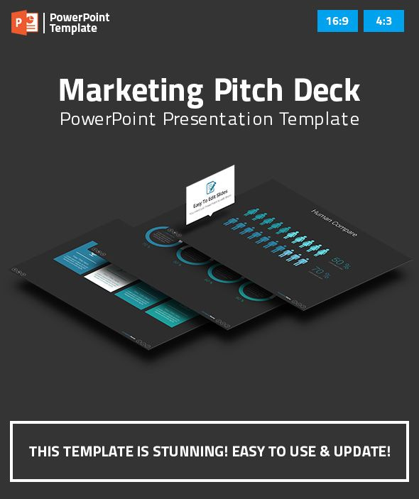 Marketing Pitch Deck PowerPoint Presentation Template