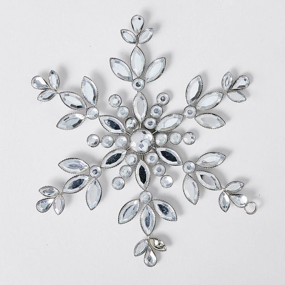 Festive Metal Snowflake Ornament Target Australia