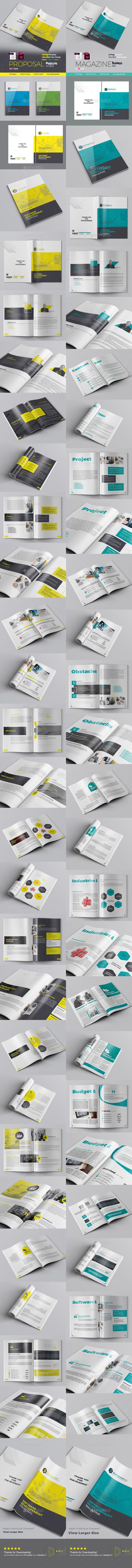 Software Company Magazine Template InDesign INDD - 24 & 44 Pages in ...