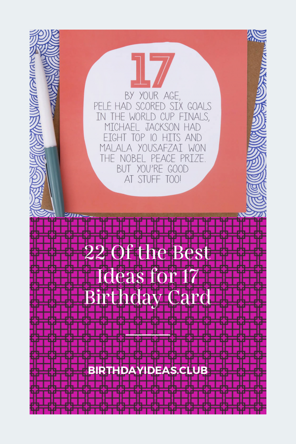 22 Of The Best Ideas For 17 Birthday Card Cool Birthday Cards Birthday Cards Funny Birthday Cards