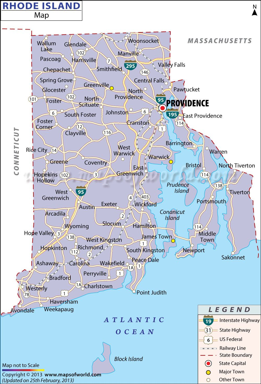 Print Images | #Maps | Pinterest | Rhode Island, Map and Island map