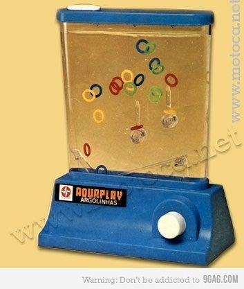 I totally remember these...what we used to have before video games!