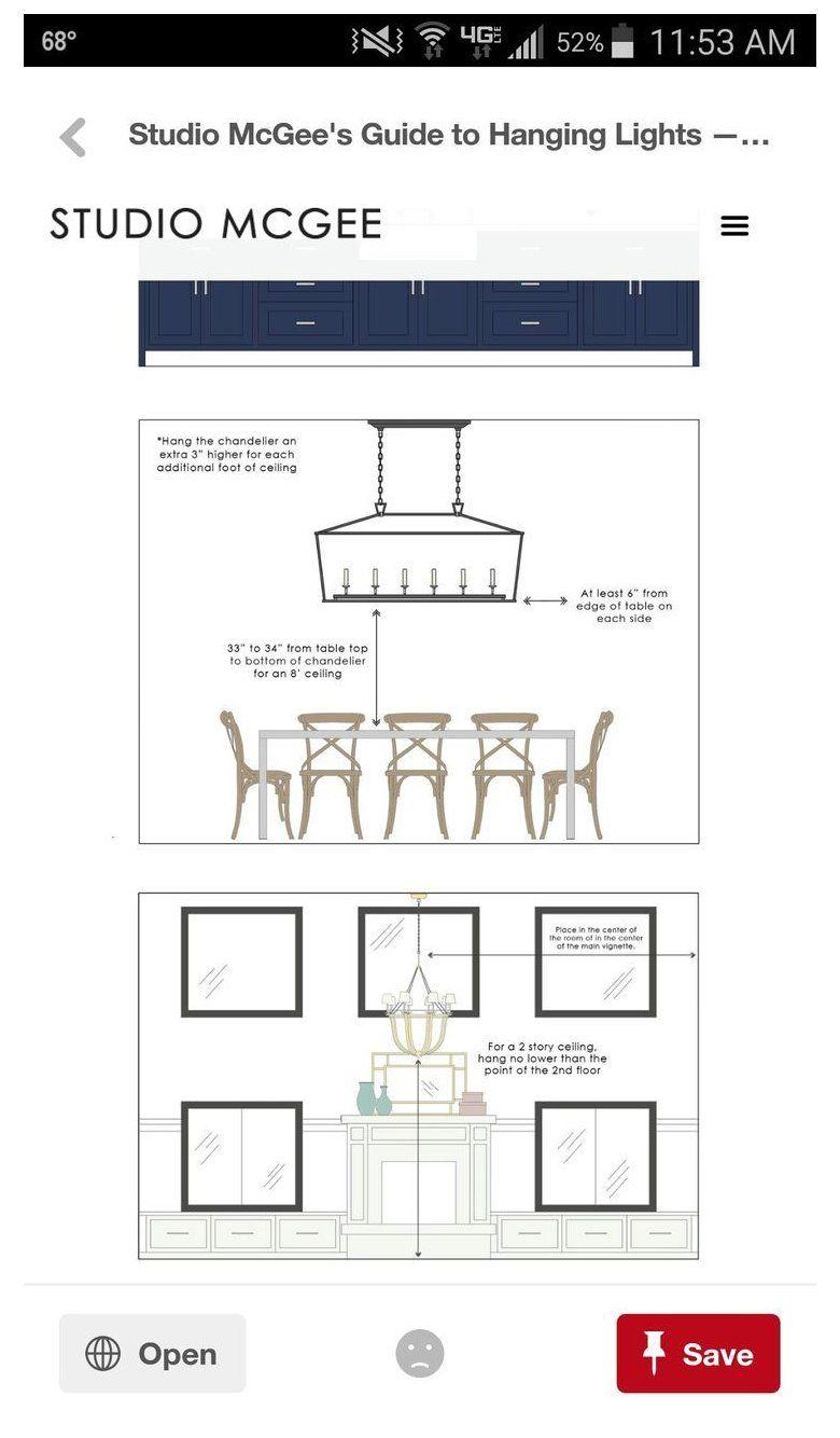 Dining Room Light Fixture Height Diningroomlightfixtureheight Studio Mcgee G In 2021 Dining Room Light Fixtures Dining Room Table Light Chandelier In Living Room