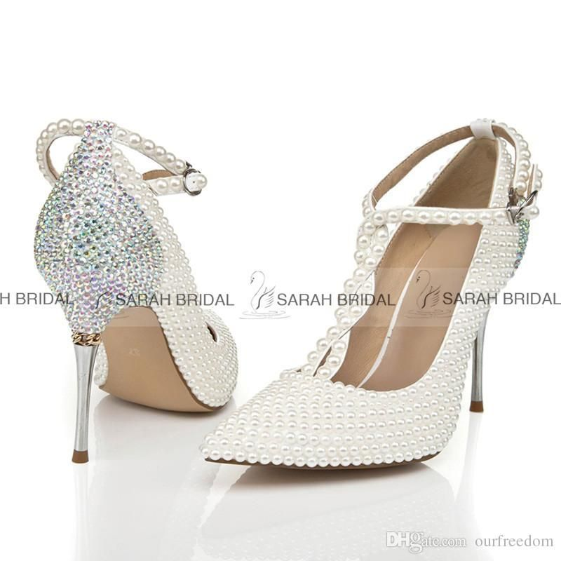 Pin By Amylee On Fashion Shoes Pearl Wedding Shoes Wedding Shoes Heels Ivory Wedding Shoes