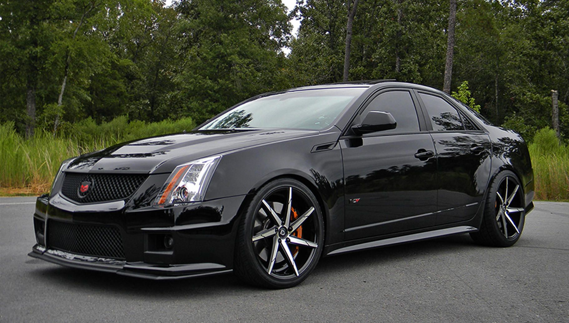 Lexani css 7 on the 2015 cadillac cts v