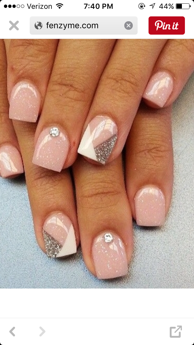 Pin by toye on beauty rituals from a to z pinterest beauty pink nails w accent nail prinsesfo Choice Image