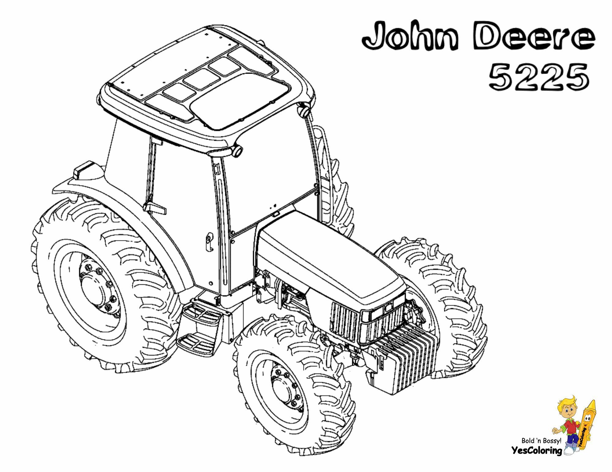 Pin On Gritty Tractor Coloring Pages [ 1545 x 2000 Pixel ]