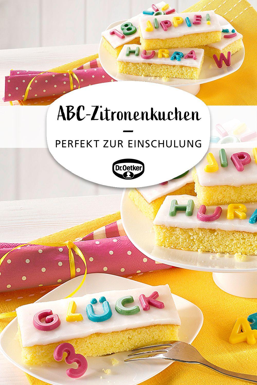 ABC-Zitronenkuchen