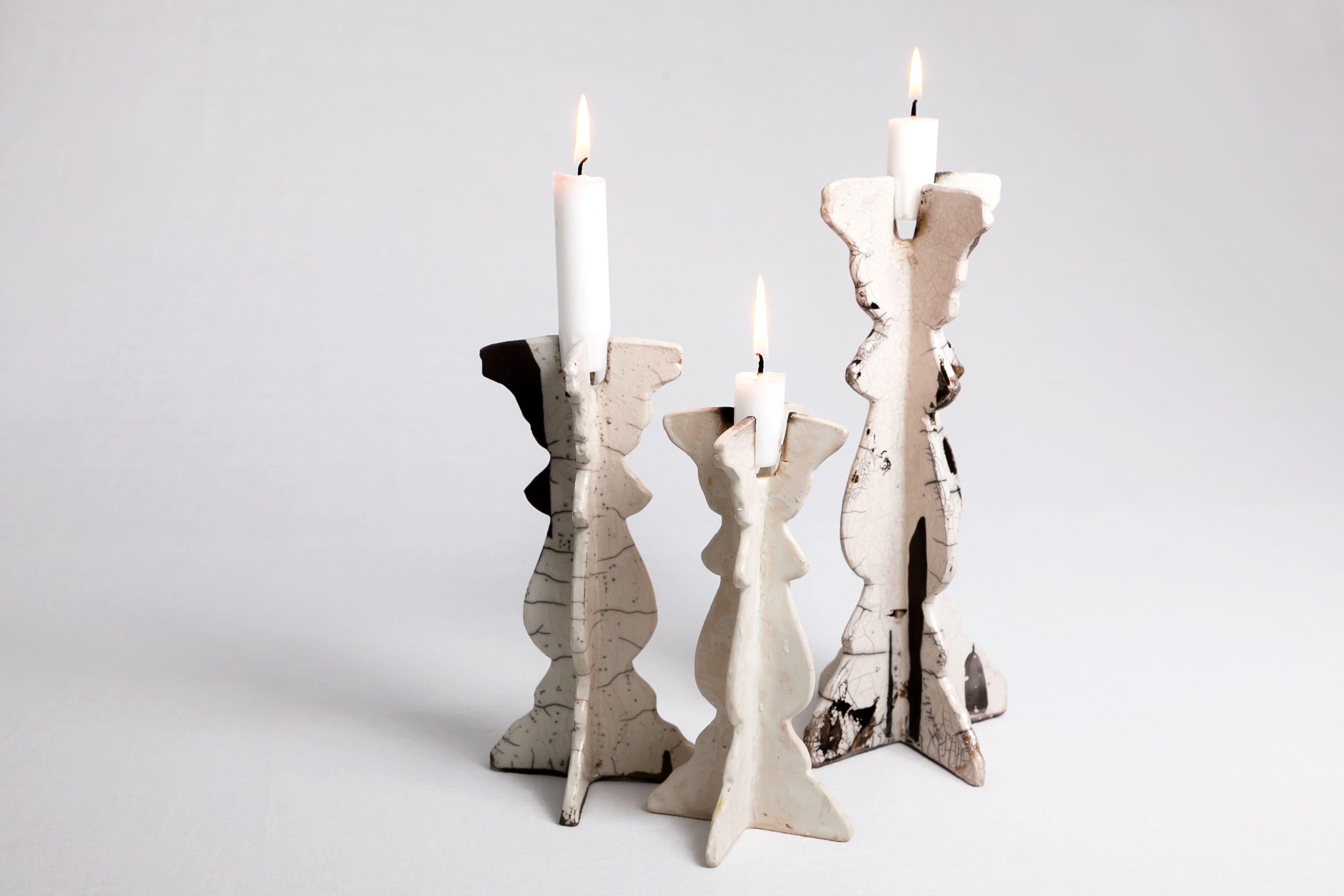 """Bonde"" raku ceramics by Oiceramics"