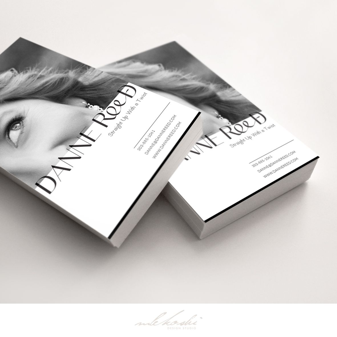 Elegant and classic business card we\'ve designed for motivational ...