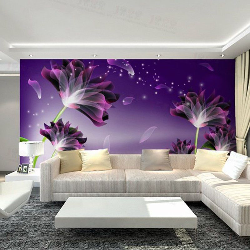 Best 3D Sala De Estar Tv O Quarto Mural De Fundo Papel De 640 x 480