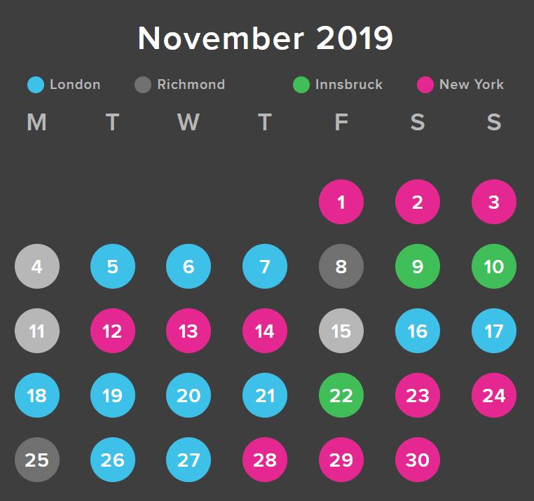 Zwift Course Calendar March S Guest World Schedule