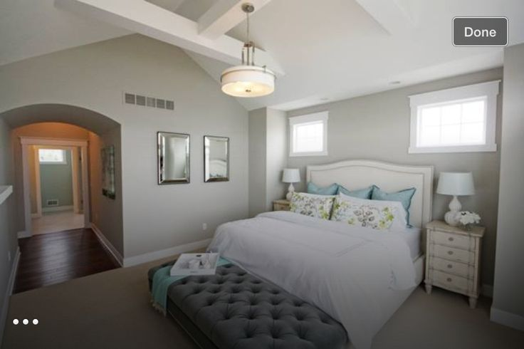 Repose Gray Master Bedroom Repose Gray Paint, Grey Paint, Sherwin William Paint, Paint Colors For Home,