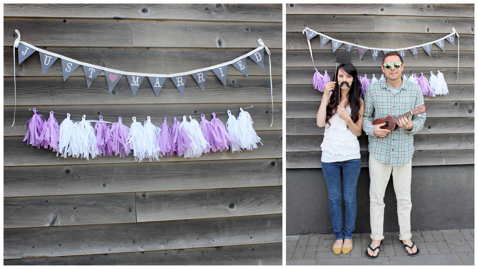 Dream State DIY Tissue Paper Tassel Garland Photo