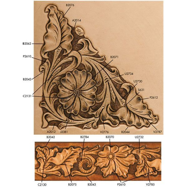 Find this pin on tooled leather patterns by