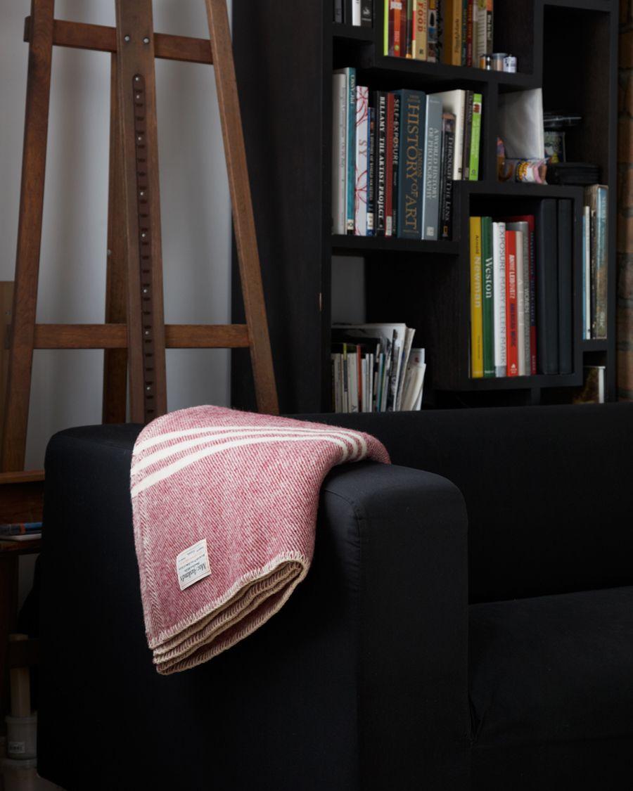 Merlot Wool Blanket - MacAusland Woolen Mills - Nalata Nalata