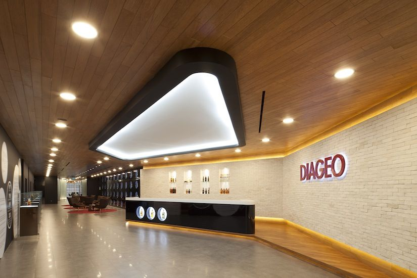 Diageo SCA Design appear once again on this list having created