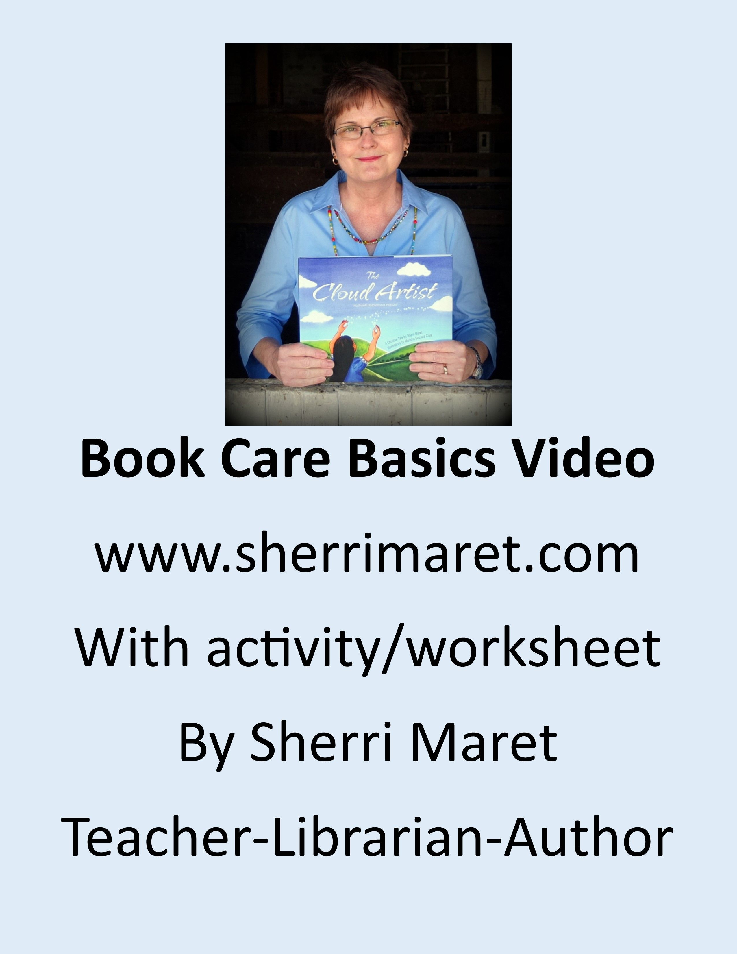 This Is A Book Care Basics Video To Help Children Learn