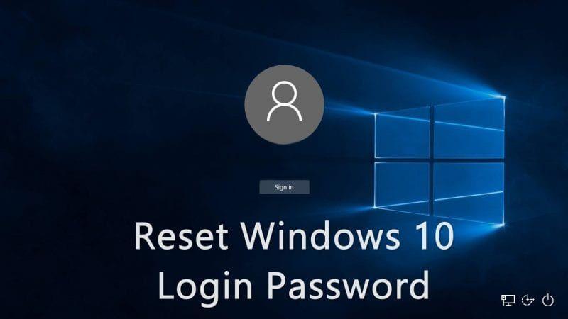 How To Reset Your Forgotten Windows 10 Login Password #windows10
